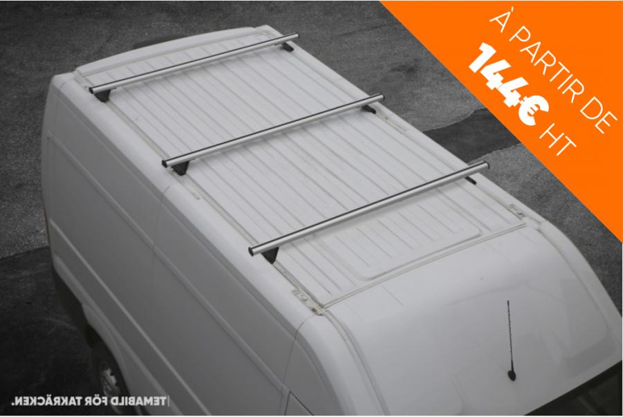Barres de toit fourgon véhicule utilitaire