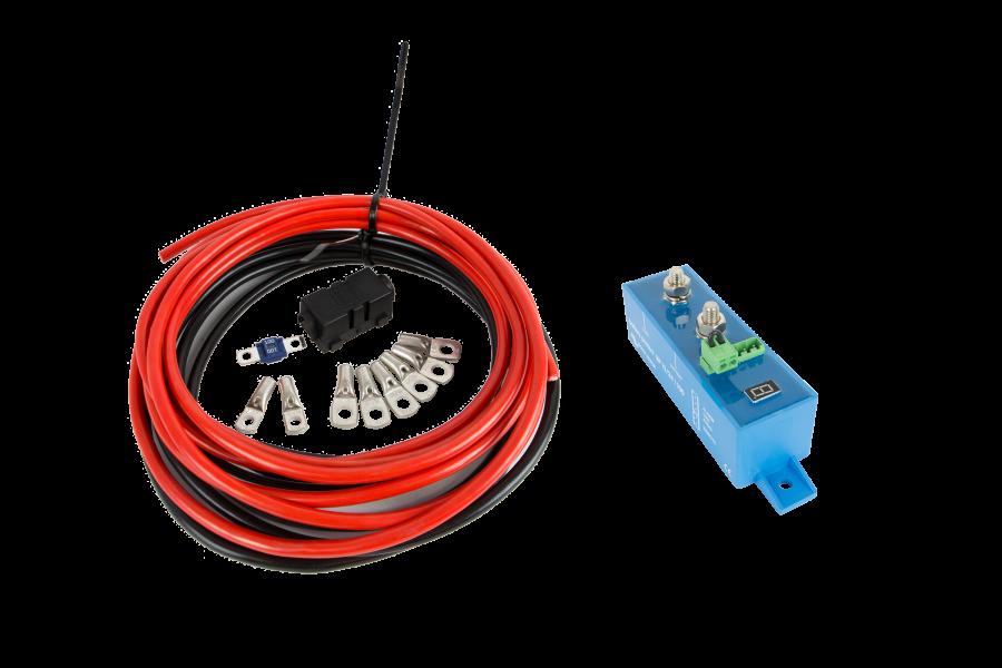 Kits de raccordement et batteries pour votre véhicule professionnel