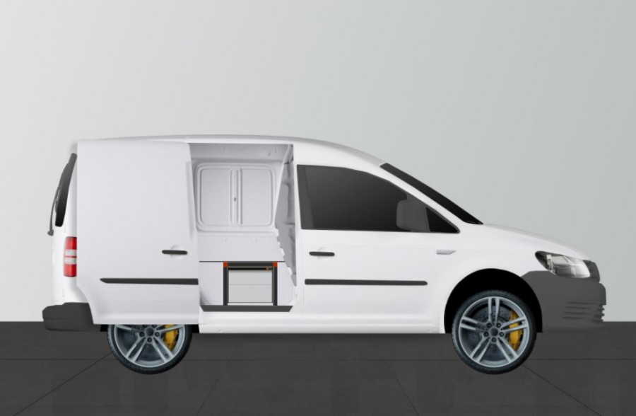 Double plancher H: 342mm pour Volkswagen Caddy | Work System