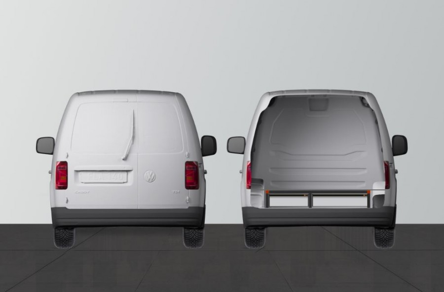 DOUBLE PLANCHER H: 202MM pour Volkswagen Caddy | Work System