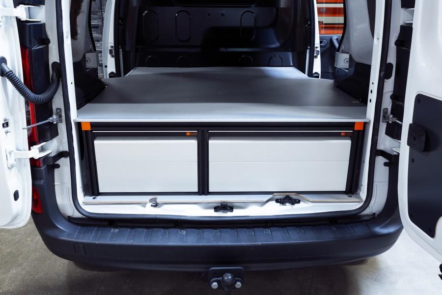 Double Plancher H: 342mm 3 tiroirs pour citan et kangoo L1H1 | Work System