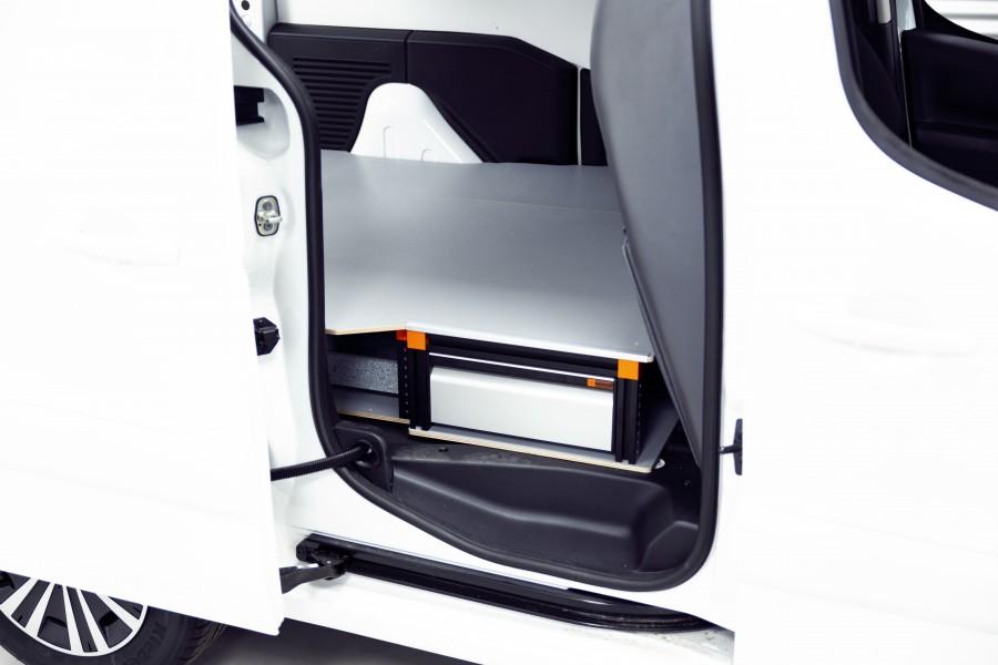 Double Plancher H: 202mm 3 tiroirs pour berlingo et partner L2H1 | Work System