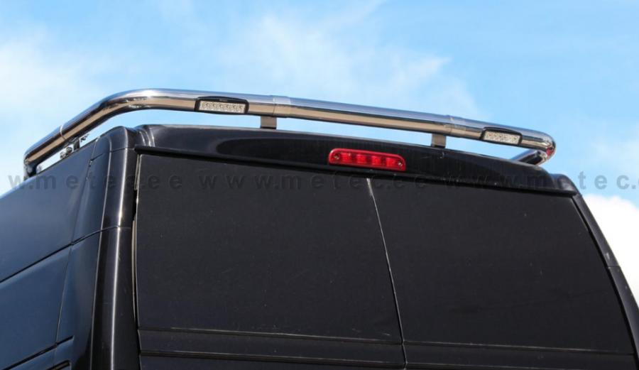 Takljusbåge för monterng bak med LED arbetsljus passande Ducato, Boxer och Jumper.