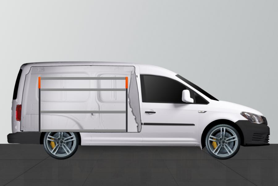 V-ESSENTIEL Aménagement Utilitaire pour VW Caddy Maxi