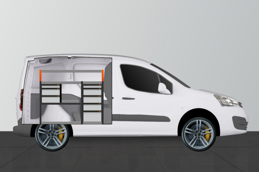 V-PRO ADVANCE Aménagement Utilitaire pour Citroen Berlingo et Peugeot Partner