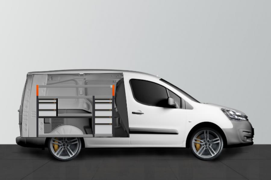 V-PRO ADVANCE Aménagement Utilitaire pour Citroen Berlingo & Peugeot Partner L2