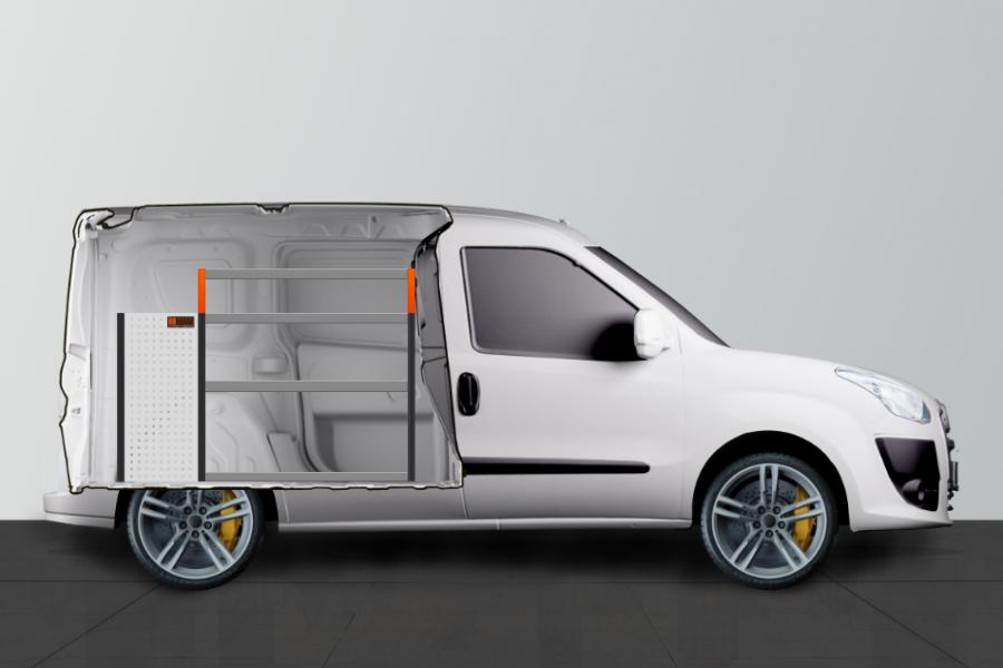 V-LB6 Aménagement Utilitaire pour Fiat Doblo & Opel Combo L1