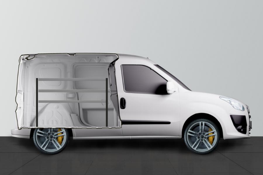 V-BAS Aménagement Utilitaire pour Fiat Doblo & Opel Combo L1 - Work System