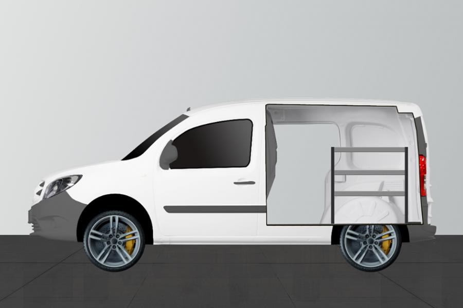 H-BAS Aménagement Utilitaire pour Mercedes Citan Long & Kangoo Standard