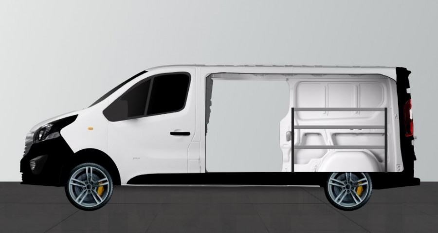 H-BAS Aménagement Utilitaire pour Talento, NV300, Vivaro & Trafic L2H1