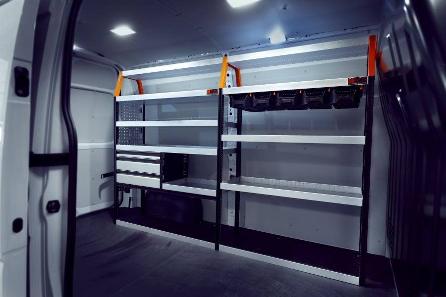 V-LS3+ Aménagement Utilitaire pour Movano, Master & NV400 L2H2