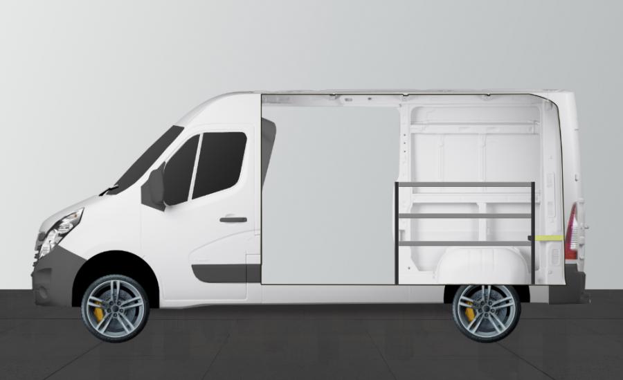 H-BAS Aménagement Utilitaire pour Boxer, Ducato et Jumper L2H2