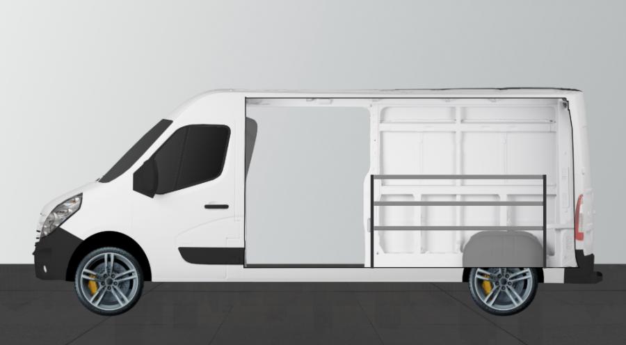 H-BAS Aménagement Utilitaire pour Boxer, Ducato et Jumper L3H2